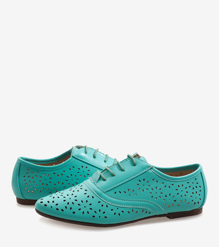 Beżowe ażurowe sandały na słupku Pimp