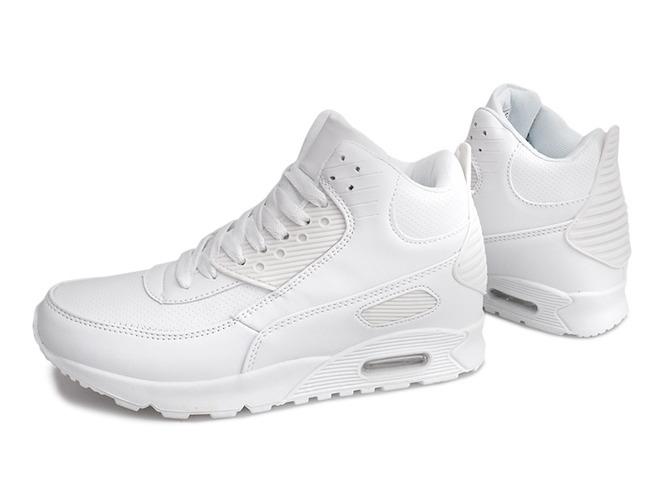 Białe buty sportowe damskie Sixth Avenue