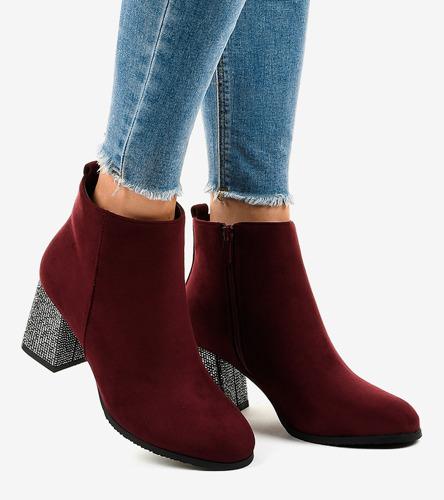 Białe połyskujące sneakersy na koturnie Rios