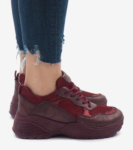 Białe sneakersy Kristi