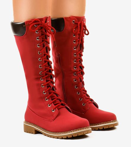 Białe tenisówki z żółtą wstawką Carey