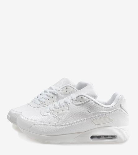 Czarne błyszczące sneakersy Gina