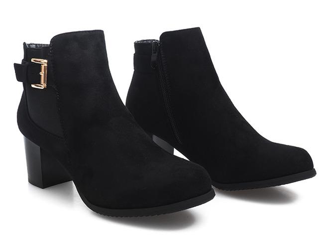 Czarne sneakersy Kristi