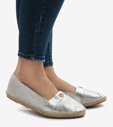 Niebieskie, klasyczne czółenka Gia